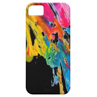 los colores del color de la salpicadura de la pint iPhone 5 Case-Mate funda