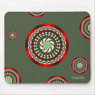 Los colores del navidad Mousepad Tapete De Raton