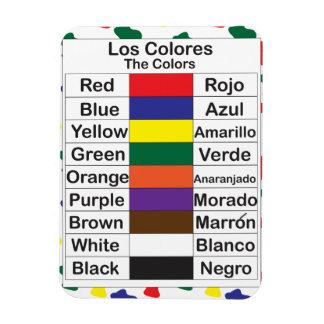 Los Colores Magnet
