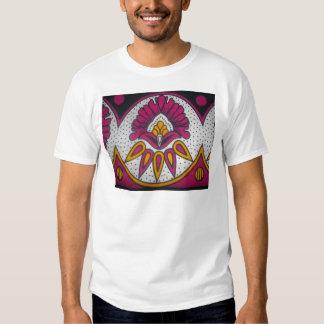 los colores refrescan styl tradicional africano remera
