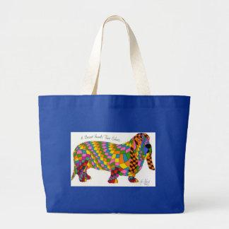 Los colores verdaderos de los perros de afloramien bolsa de mano