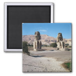 Los colosos de Memnon, estatuas de Amenhotep Imán Para Frigorífico