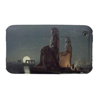 Los colosos de Memnon, Thebes, uno de 24 illustrat Funda Bareyly There Para iPhone 3 De Case-Mate