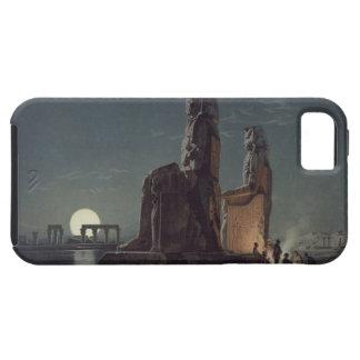 Los colosos de Memnon, Thebes, uno de 24 illustrat Funda Para iPhone SE/5/5s