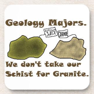 Los comandantes de la geología no toman nuestro es posavasos de bebidas