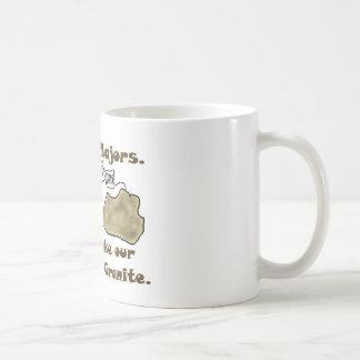 Los comandantes de la geología no toman nuestro es tazas de café