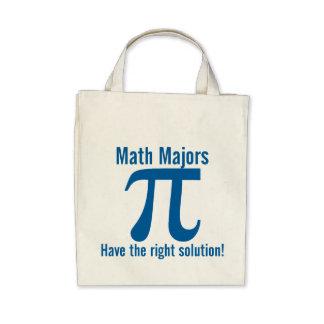 Los comandantes de matemáticas tienen la solución  bolsa lienzo