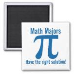 Los comandantes de matemáticas tienen la solución  imán para frigorífico