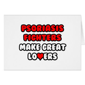 Los combatientes del psoriasis hacen a grandes ama felicitacion