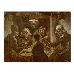 Los comedores de la patata de Vincent van Gogh Postal