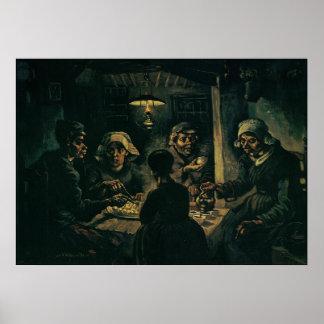 Los comedores de la patata póster