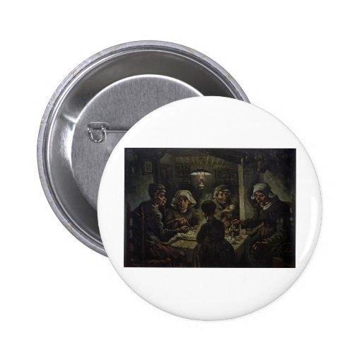 Los comedores de la patata - Vincent van Gogh (188 Pin