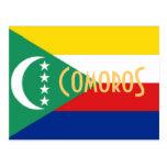 Los Comoro la postal de las islas del Comoro