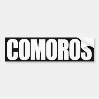 Los Comoro Pegatina Para Auto