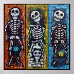 Los Compadres Muertos Poster