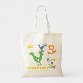 Los compinches del pájaro - recicle el bolso bolsas de mano
