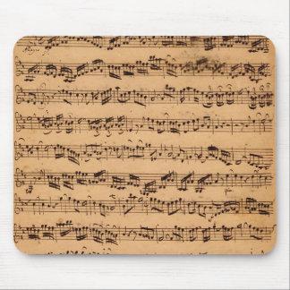 Los conciertos de Brandenburger, No.5 D-Dur, 1721 Mousepad