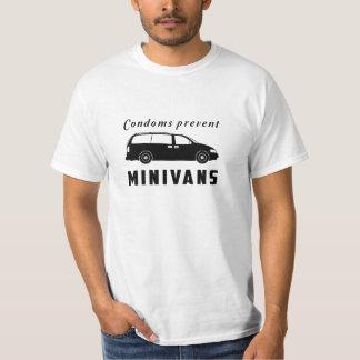 Los condones previenen los minivanes camisas