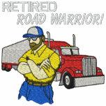 Los conductores de camión jubilados bordaron la ca sudadera bordada con capucha