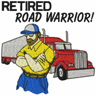 Los conductores de camión jubilados bordaron la ca