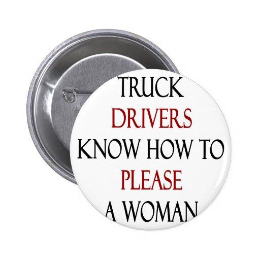 Los conductores de camión saben satisfacer a una m pins