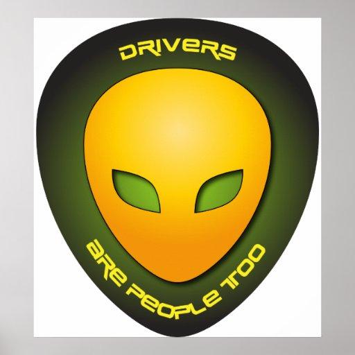 Los conductores son gente también poster