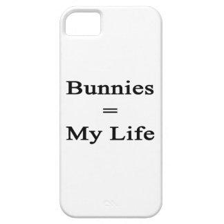 Los conejitos igualan mi vida iPhone 5 Case-Mate carcasa