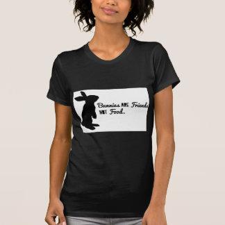 ¡Los conejitos son amigos, no comida! Camisetas