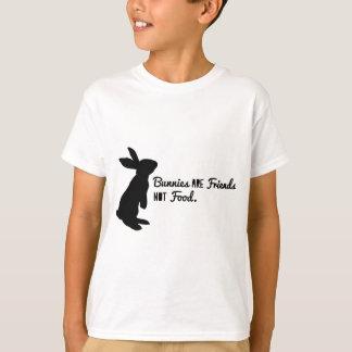 ¡Los conejitos son amigos, no comida! Polera