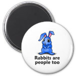 Los conejos son gente también imán