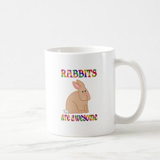 Los conejos son impresionantes tazas