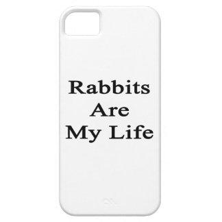 Los conejos son mi vida iPhone 5 Case-Mate protector