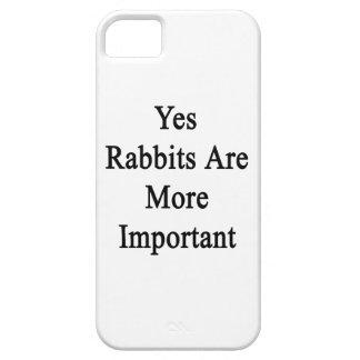 Los conejos son sí más importantes iPhone 5 fundas