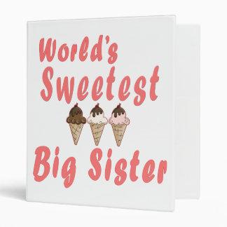 Los conos de helado más dulces de la hermana grand