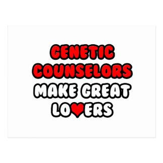 Los consejeros genéticos hacen a grandes amantes tarjeta postal