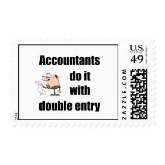 los contables lo hacen con la entrada doble envio