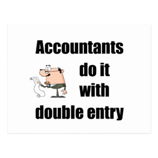 los contables lo hacen con la entrada doble postal