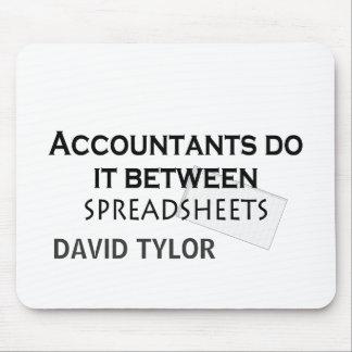 ¡Los contables lo hacen Tapetes De Raton
