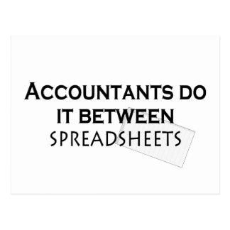 ¡Los contables lo hacen! Postales