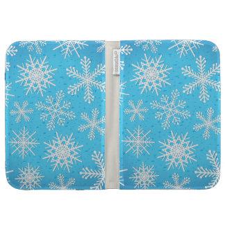 Los copos de nieve, encienden la caja