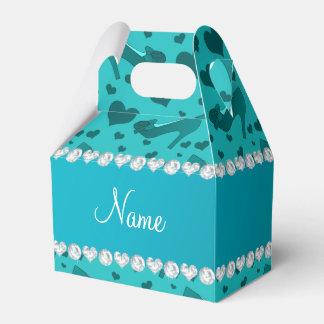 Los corazones conocidos personalizados de la cajas para regalos