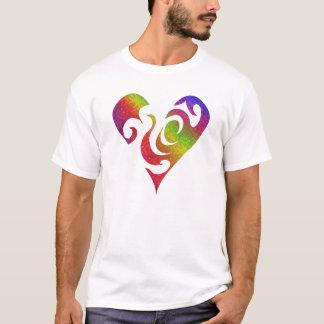 Los corazones del arco iris bailan mejor playera