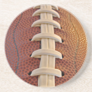 Los cordones del fútbol viven práctico de costa de posavasos personalizados