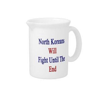 Los coreanos del norte lucharán hasta el extremo jarrón