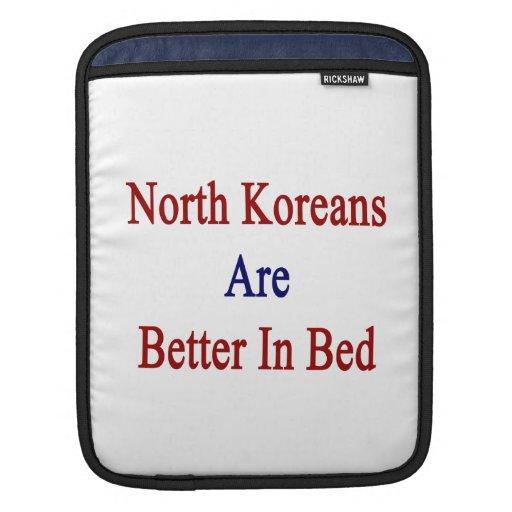 Los coreanos del norte son mejores en cama manga de iPad