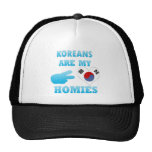 Los coreanos son mi Homies Gorras