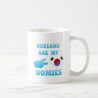 Los coreanos son mi Homies Taza