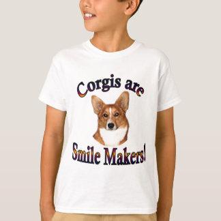 Los Corgis son fabricantes de la sonrisa - reineta Playera