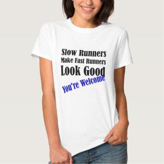 Los corredores lentos hacen los corredores rápidos playeras