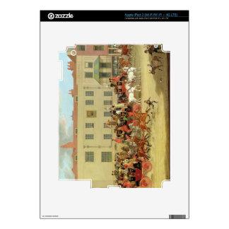 Los correos del norte del país en el pavo real, Is iPad 3 Pegatina Skin